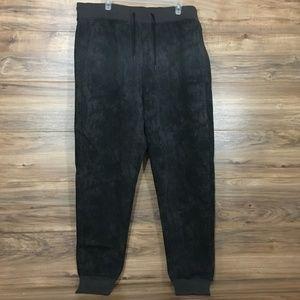 Puma Pants - Puma Mens Washed T7 BLACK PANT Size XXL
